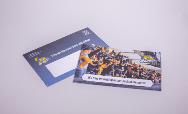 Toledo Walleye Group Mailer
